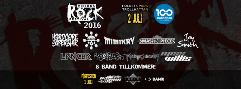 Vicious Rock Festival 2016