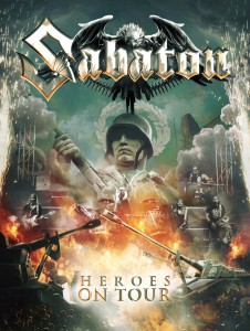 Sabaton - Heroes On Tour - Artwork