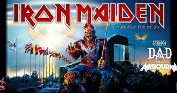 iron maden ullevi tour 2022